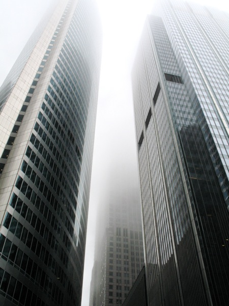 Foggy day in Chi Town