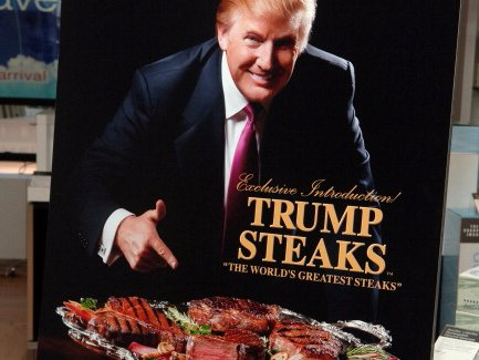 Trump steaks promo
